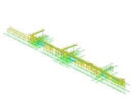 Комплекс по перегрузке сжиженных углеводородных газов (СУГ). Металлоконструкции под инженерные сети, технологические трубопроводы тип 80,1 резервуаров, СУГ под давлением (тип 201).