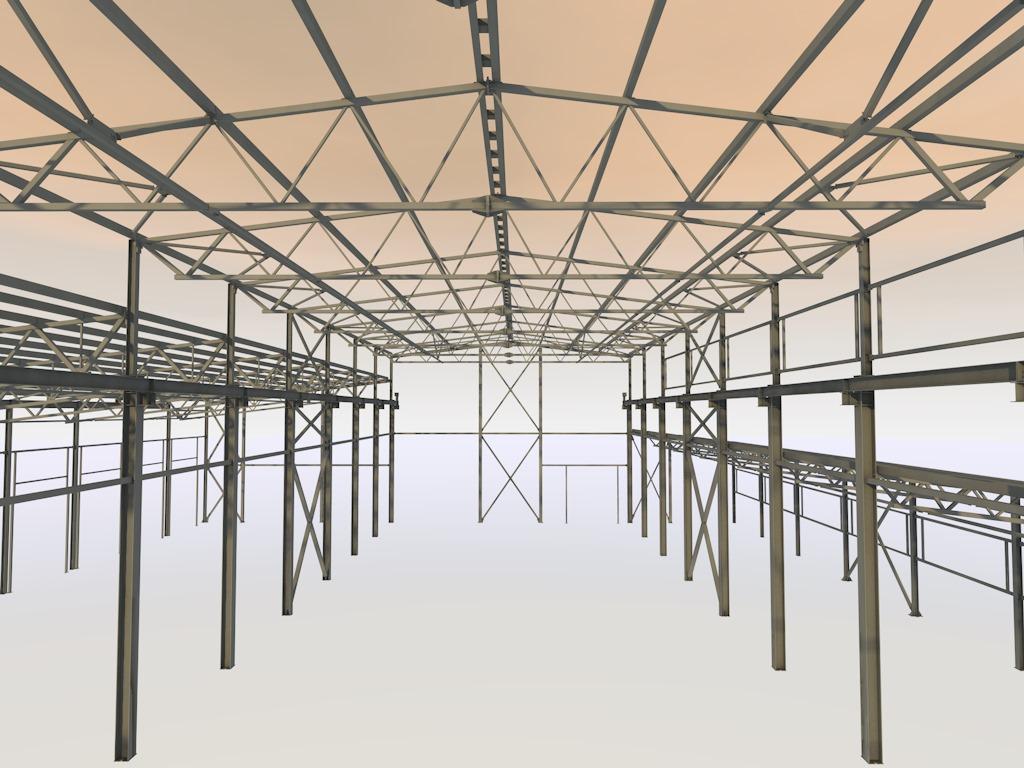 Производственное помещение ремонтной зоны ЗСД